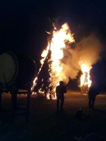 火祭りとんど
